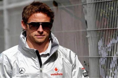 Fährt Jenson Button schon bald in der DTM? Er könnte es sich durchaus vorstellen...