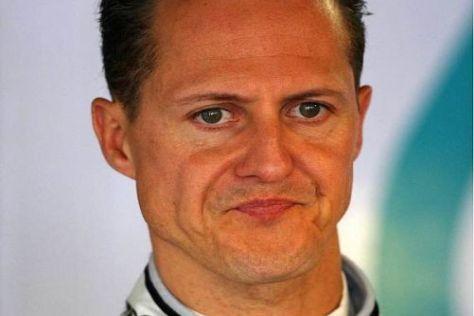 Michael Schumacher kassierte heute erstmals in Monte Carlo eine Niederlage