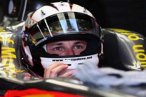 Christian Klien freut sich schon auf seine nächsten Formel-1-Trainings