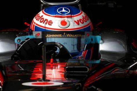 Ausfall im Fürstentum: Jenson Button hat die WM-Führung verloren