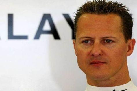 Michael Schumacher möchte noch keine Vorhersagen für Samstag treffen