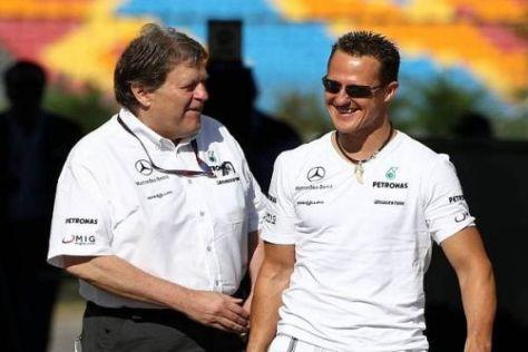 Norbert Haug setzt weiterhin großes Vertrauen in Michael Schumacher