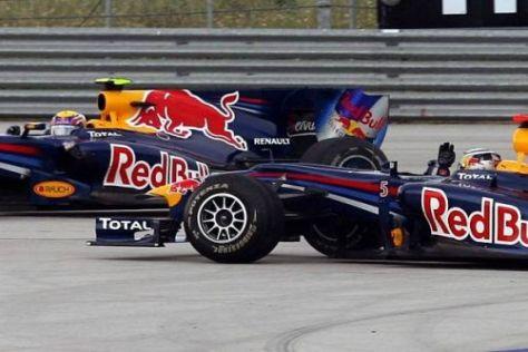 Die Stimmung zwischen Mark Webber und Sebastian Vettel ist vergiftet