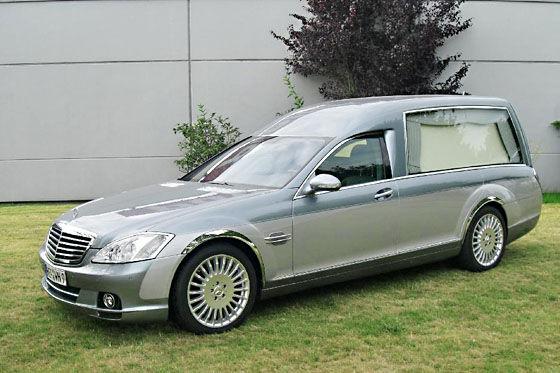 Pollmann Mercedes S-Klasse Bestattungswagen