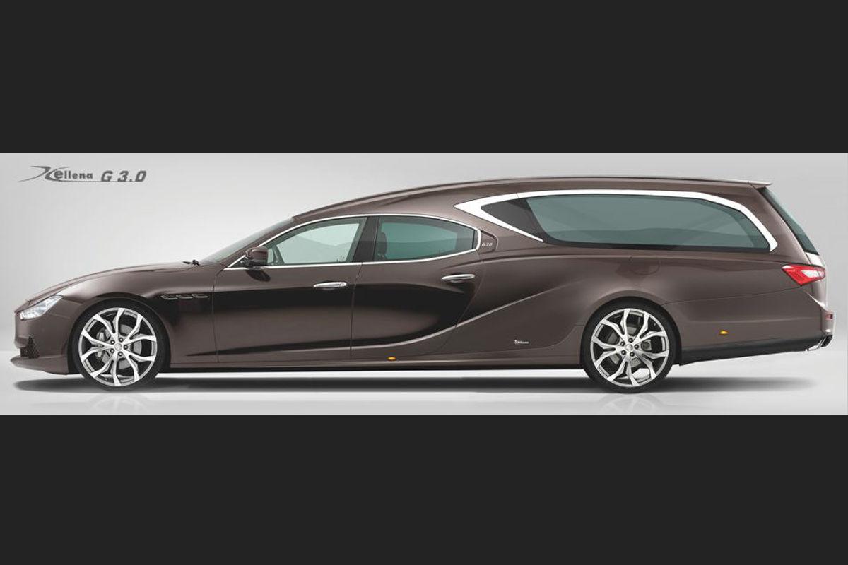Leichenwagen: So elegant geht es ins Jenseits