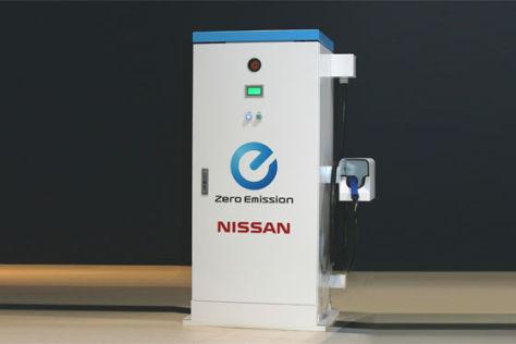 Ladestation für Nissan Leaf - autobild.de