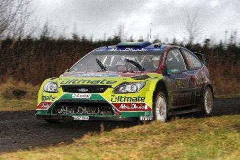 Jari-Matti Latvala und seine Kollegen könnten 2012 wieder in Irland auflaufen