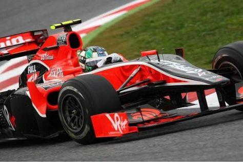Lucas di Grassi und das Virgin-Team sind seit diesem Jahr in der Formel 1 am Start