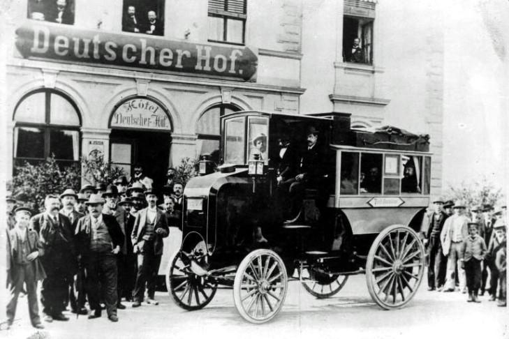 Daimler Post-Omnibus (1898)