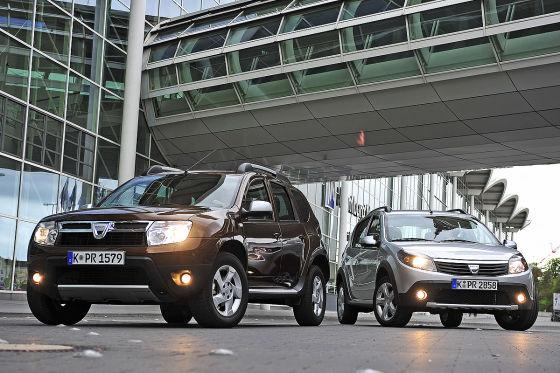 Dacia Duster Dacia Sandero