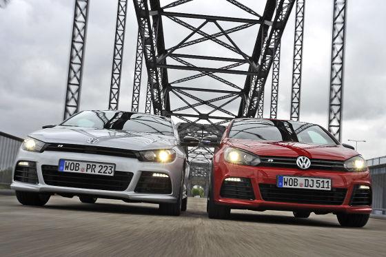 VW Scirocco VW Golf