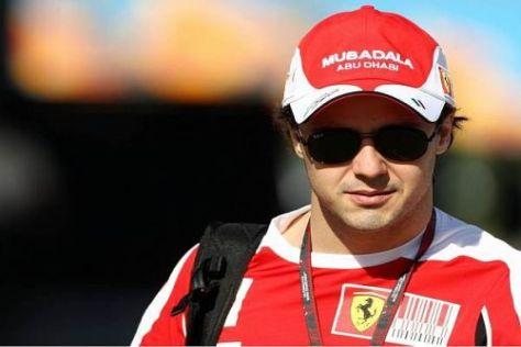 Felipe Massa bleibt ein Roter: Der Brasilianer fährt bis Ende 2012 für Ferrari