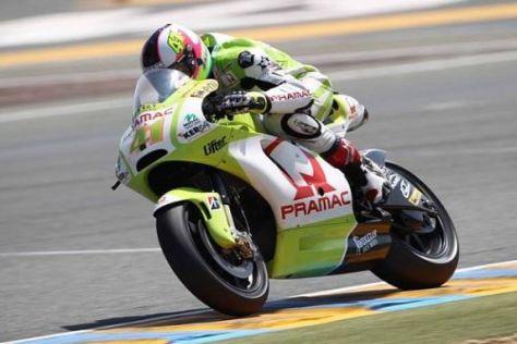 Rookie Aleix Espargaro ist in der MotoGP auf dem Weg nach vorn