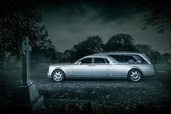 Rolls-Royce Phantom als Leichenwagen