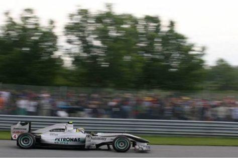 Nico Rosberg kämpfte, aber mehr war aus dem Auto einfach nicht rauszuholen