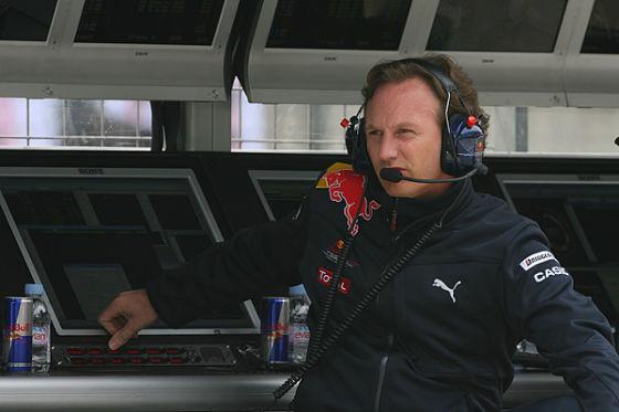 Christian Horner Red Bull Racing