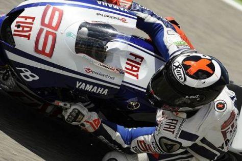 Jorge Lorenzo sicherte sich die Bestzeit zum MotoGP-Auftakt in Silverstone