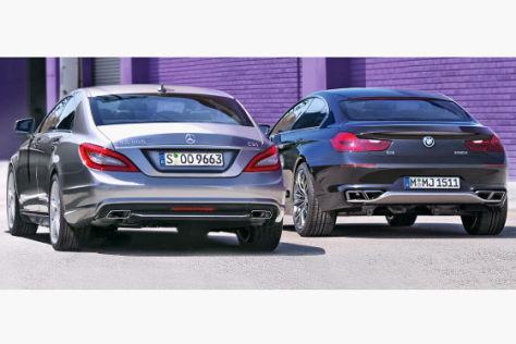 Vorschau Mercedes Cls Gegen Bmw Gran Coup 233 Autobild De