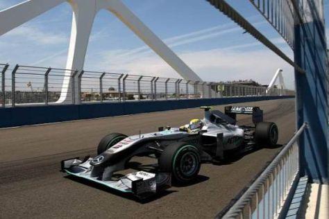 In der Entwicklung zurück: Der Mercedes MGP W01 ist noch nicht siegfähig