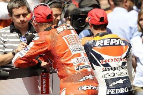 Bald gemeinsam bei Honda? Casey Stoner und Dani Pedrosa