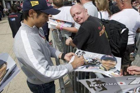 Hiroshi Aoyama möchte schon bald in den Grand-Prix-Zirkus zurückkehren