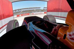 In Vettels Red Bull