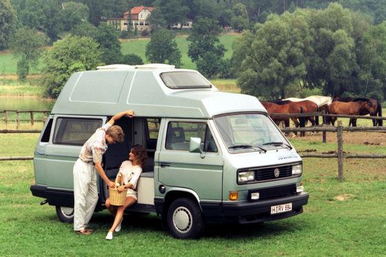 """Urlaubs-Bomber: Der Hochdach-T3 mit Campingwohnung, Modell """"Atlantic"""""""