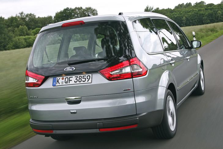 Test Vw Sharan Gegen Ford Galaxy Bilder Autobildde
