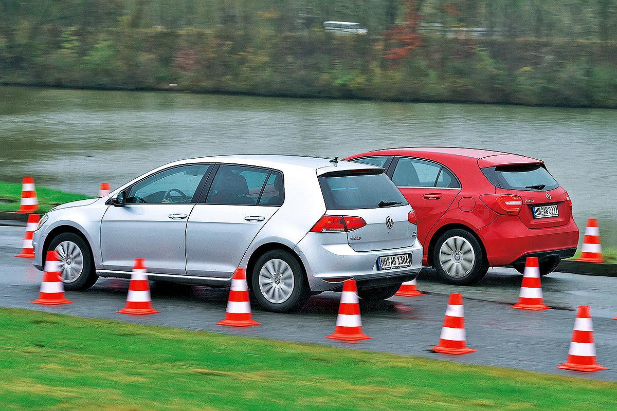 VW Golf/Mercedes A-Klasse: Die Kilometerfresser