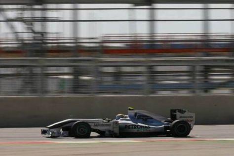 Nico Rosberg ist zufrieden, wie es am Freitag in Silverstone gelaufen ist