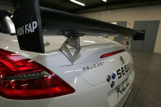Heckflügel Peugeot RCZ