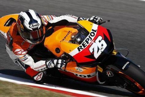 Dani Pedrosa möchte seinen beiden zweiten Plätzen einen Sieg folgen lassen