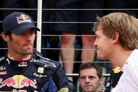 Stallduell: Mark Webber meint, Sebastian Vettel werde im Team bevorzugt
