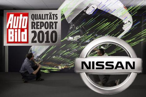 AUTO BILD-Qualitätsreport 2010: Nissan