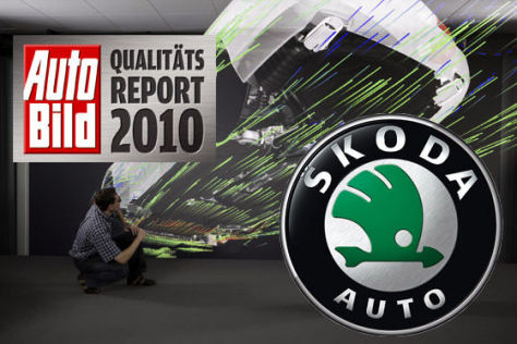 AUTO BILD-Qualitätsreport 2010: Skoda