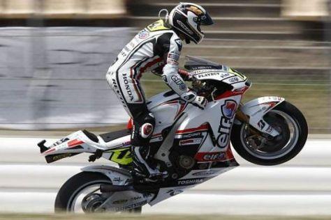 Neue Teile von Honda - Randy de Puniet startet in der MotoGP durch