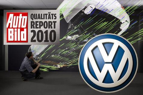 AUTO BILD-Qualitätsreport 2010: VW