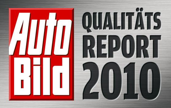 AUTO BILD Qualitätsreport 2010