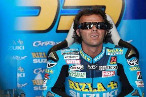 Der Vertrag läuft aus und Loris Capirossi wird Suzuki wohl den Rücken kehren