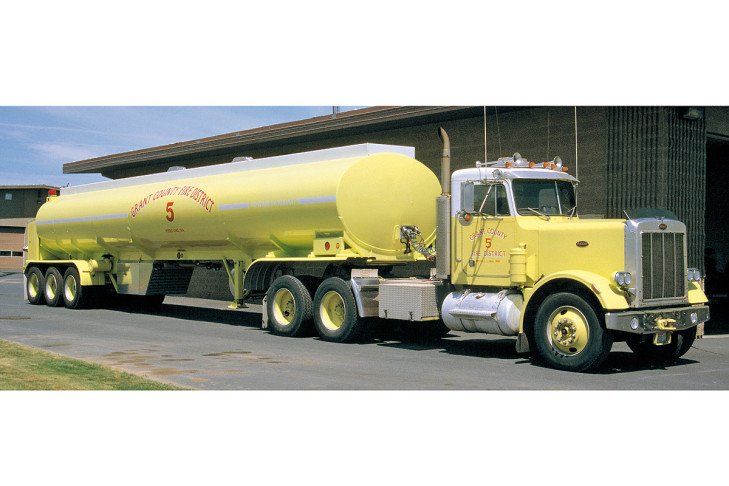 Löschwasserzubringer-Fahrzeug