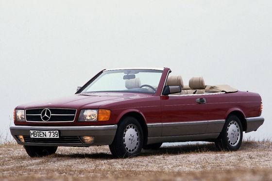 Mercedes SEC Cabriolet