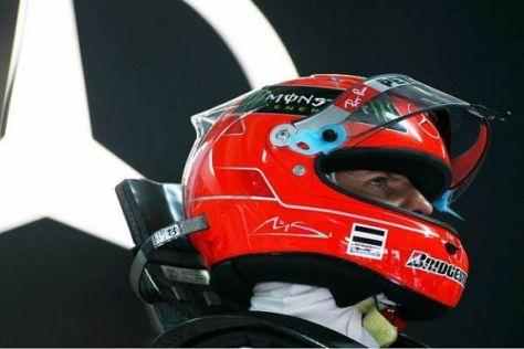 Michael Schumacher sieht sich morgen am ehesten in der dritten Startreihe
