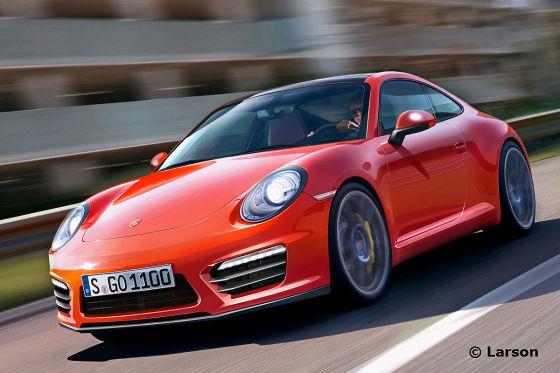 Porsche 911 Illustration