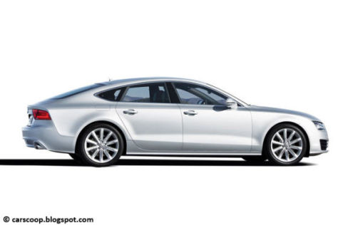 Audi A7 Sportback (2010): Erste Bilder vorab im Internet ...