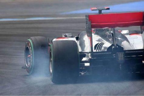 McLaren erwartet sich noch große Fortschritte im Bereich des Diffusors