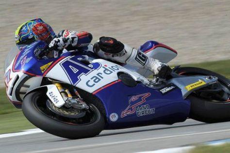 Karel Abraham startet 2011 auf einer Ducati Desmosedici in der MotoGP