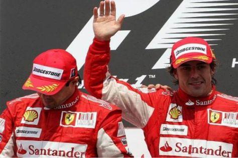Felipe Massa und Fernando Alonso: Wer Nummer eins ist, hebt bitte die Hand