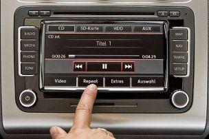 Das Autoradio von morgen