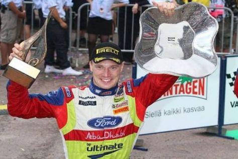 Jari-Matti Latvala hat sich am Sonntag einen Kindheitstraum erfüllt