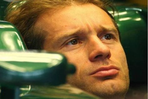 Jarno Trulli hat schon motivierter gewirkt als dieses Jahr bei Lotus